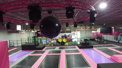 Parkour Flying Squirrel Trampoline Park Promo Video