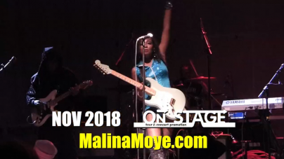 Malina Moye – EUROPE 2018